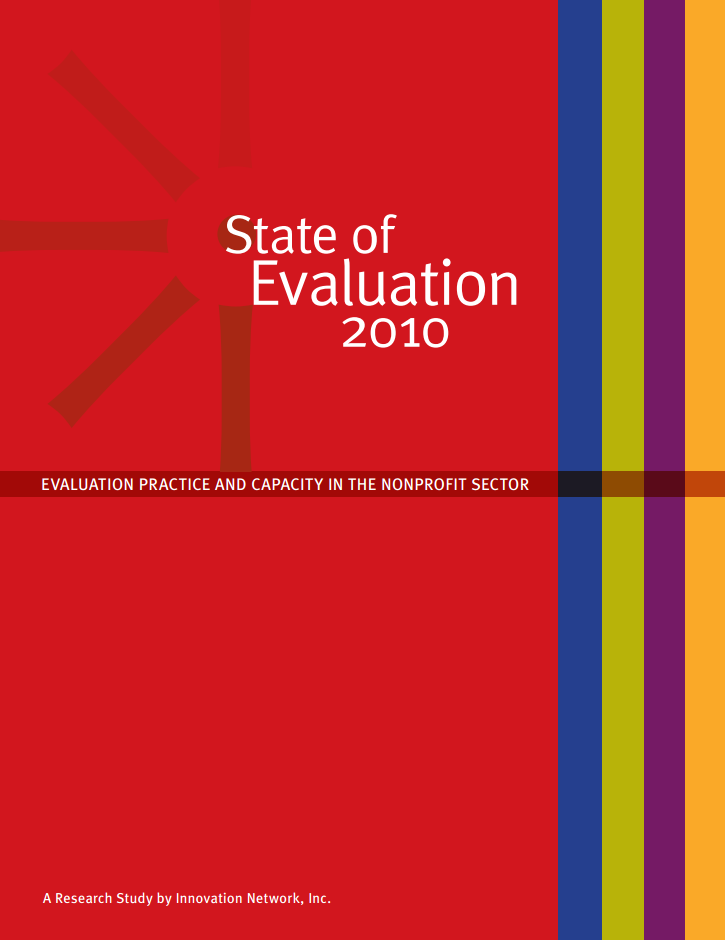 State of Evaluation 2010